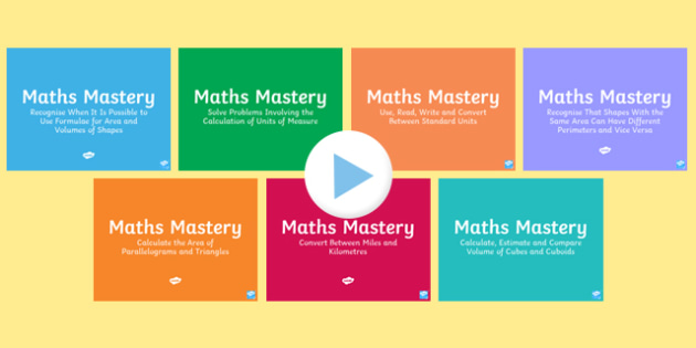Year 6 Measurement Maths Mastery Activities Resource Pack-Australia