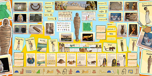 Ready Made Ancient Egypt Display Pack - ready made, display, pack