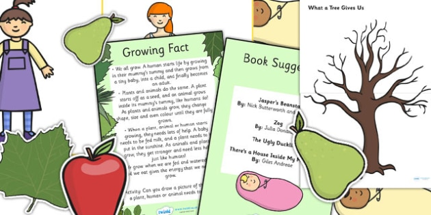 EYFS Growing Discovery Sack - EYFS, growing, growth, discover