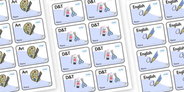 Husky Themed Editable Book Labels - Themed Book label, label, subject labels, exercise book, workbook labels, textbook labels