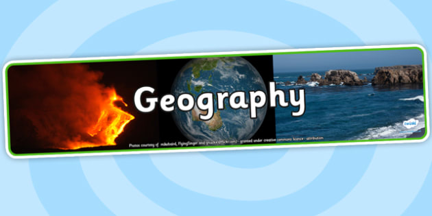 Geography Photo Display Banner - geography, photo display banner, display banner, display, banner, photo banner, header, display header, photo header, photo