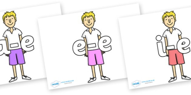 Modifying E Letters on James to Support Teaching on James and the Giant Peach - Modifying E, letters, modify, Phase 5, Phase five, alternative spellings for phonemes, DfES letters and Sounds
