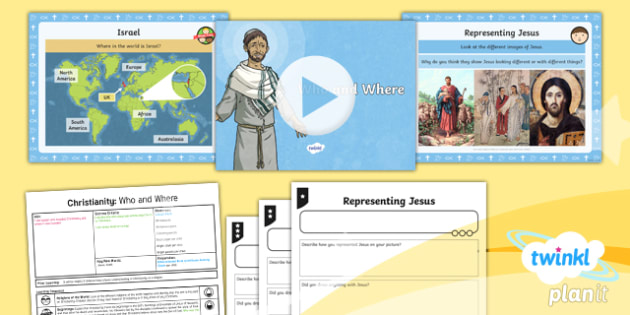 PlanIt - RE Year 4 - Christianity - Lesson 1: Who and Where Lesson Pack