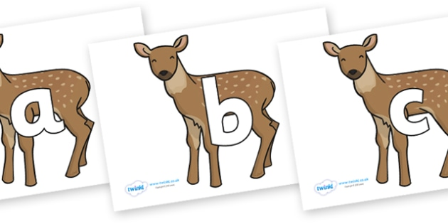 Phoneme Set on Fawns - Phoneme set, phonemes, phoneme, Letters and Sounds, DfES, display, Phase 1, Phase 2, Phase 3, Phase 5, Foundation, Literacy