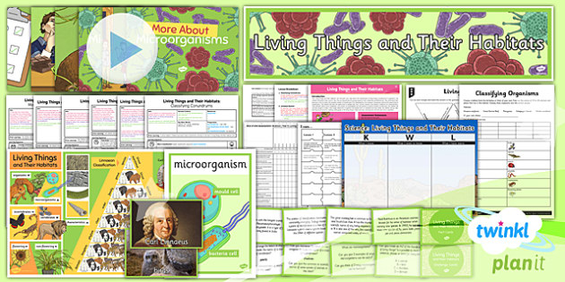 PlanIt - Science Year 6 - Living Things and Their Habitats Unit Pack - planit, science, year 6, living things and their habitats, unit pack