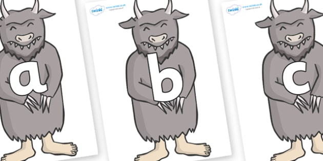 Phoneme Set on Wild Thing (3) to Support Teaching on Where the Wild Things Are - Phoneme set, phonemes, phoneme, Letters and Sounds, DfES, display, Phase 1, Phase 2, Phase 3, Phase 5, Foundation, Literacy