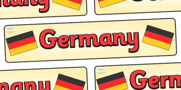 Germany Display Banner - Germany, Olympics, Olympic Games, sports, Olympic, London, 2012, display, banner, sign, poster, activity, Olympic torch, flag, countries, medal, Olympic Rings, mascots, flame, compete, events, tennis, athlete, swimming