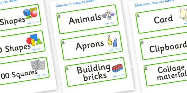 Spruce Themed Editable Classroom Resource Labels - Themed Label template, Resource Label, Name Labels, Editable Labels, Drawer Labels, KS1 Labels, Foundation Labels, Foundation Stage Labels, Teaching Labels, Resource Labels, Tray Labels, Printable la