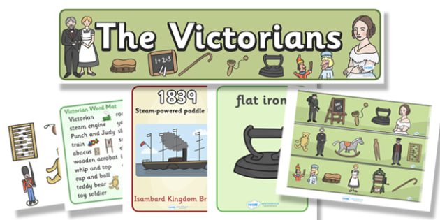 The Victorians Display Pack - the victorians, display pack, display banner, display photos, resource pack, display lettering, resources, classroom display