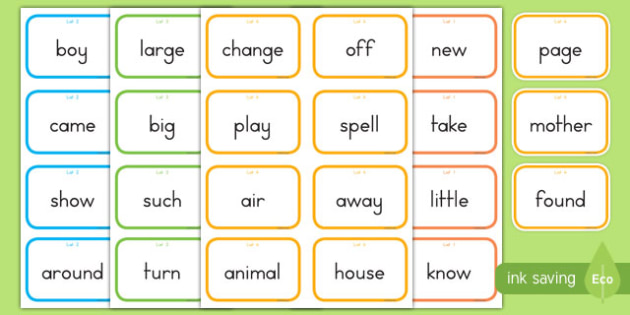 Fry Words The Second Hundred Flashcards
