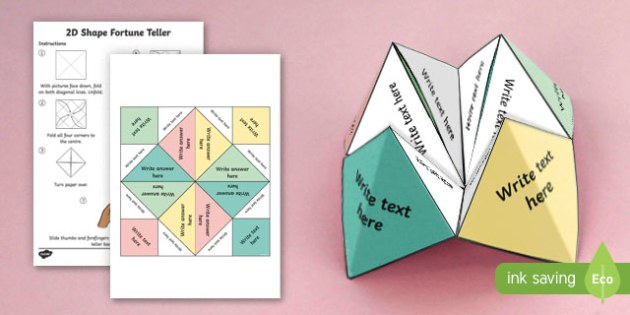 Editable Fortune Teller - edit, editable, fortune teller, fortune, teller, craft, activity, maths, mathematics, times table, times tables