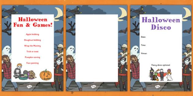 PTA Halloween Posters - Halloween, display, poster