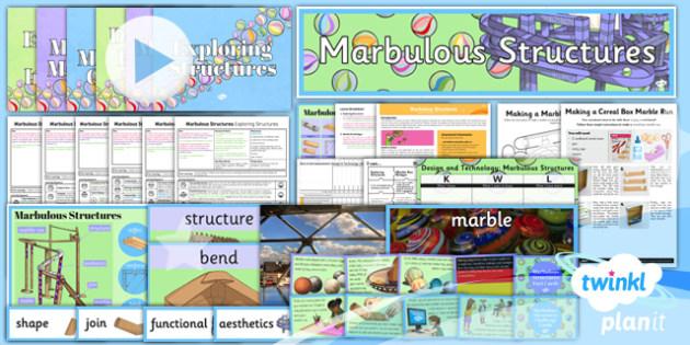PlanIt - DT UKS2 - Marbulous Structures Unit Pack - planit, design and technology, dt, uks2, marbulous structures, unit pack
