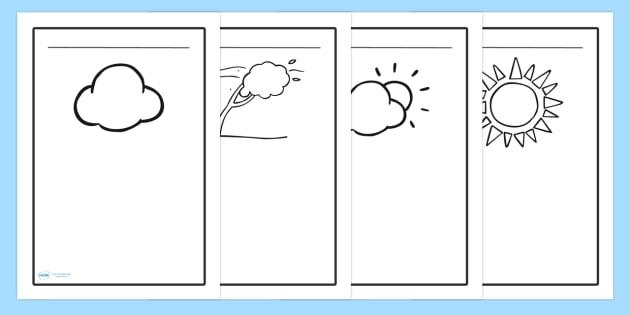 Weather Writing Frames - writing frame, frame, writing, writing aid, weather, weather writing, weather writing prompt, writing template, template, literacy