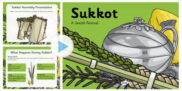 Sukkot Assembly Presentation - sukkot, assembly, presentation