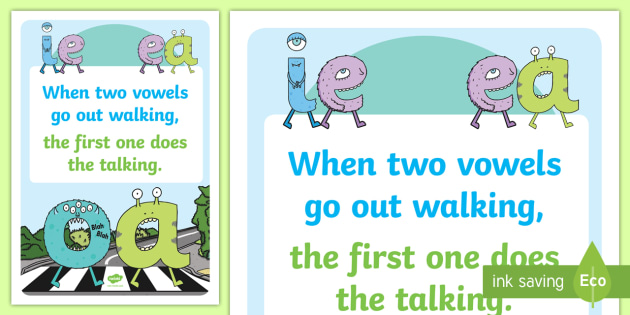 Phonics Vowel Rhyme A3 Poster - phonics, vowel, rhyme, a3, poster, display, display poster