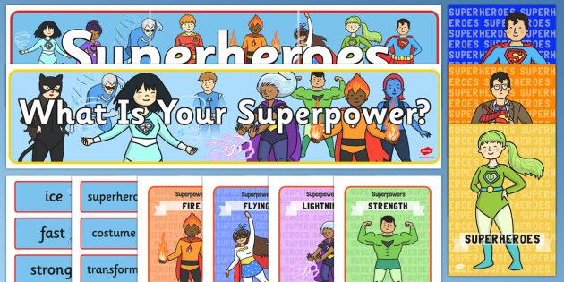 Superhero Role Play Pack- Superhero, superheroes, hero, role play, pack, batman, superman, spiderman, special, power, powers, catwoman, liono, he-man