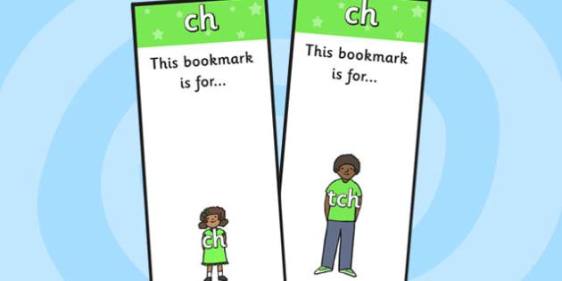 ch Sound Family Editable Bookmarks - ch sound family, editable bookmarks, bookmarks, editable, behaviour management, classroom management, rewards, awards