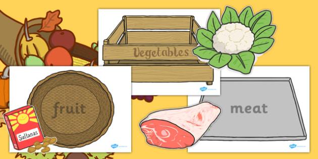 Harvest Produce Sorting Game - harvest, sorting, game, produce