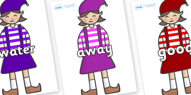 Next 200 Common Words on Elf (Girl) - Next 200 Common Words on  - DfES Letters and Sounds, Letters and Sounds, Letters and sounds words, Common words, 200 common words