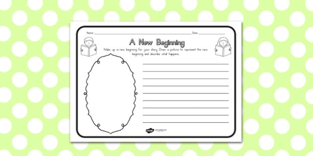 A New Beginning Comprehension Worksheet - australia, beginning
