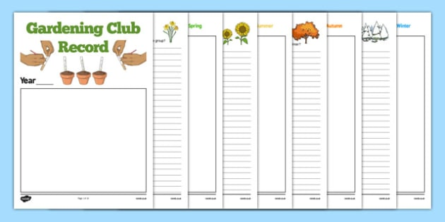 Elderly Care Gardening Club Record - Elderly, Reminiscence, Care Homes, Gardening Club