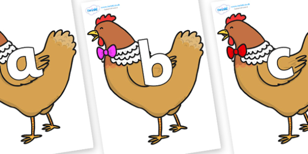 Phoneme Set on Henny Penny - Phoneme set, phonemes, phoneme, Letters and Sounds, DfES, display, Phase 1, Phase 2, Phase 3, Phase 5, Foundation, Literacy
