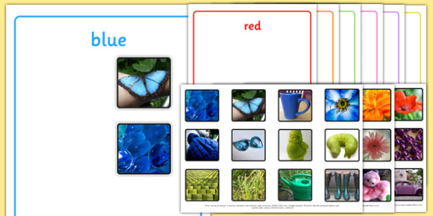Photo Colour Sorting Activity - photo, colour, sorting, activity, sort