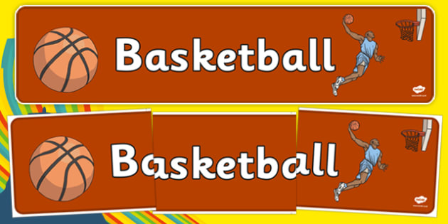 The Olympics Basketball Display Banner - Basketball, Olympics, Olympic Games, sports, Olympic, London, 2012, display, banner, poster, sign, activity, Olympic torch, events, flag, countries, medal, Olympic Rings, mascots, flame, compete