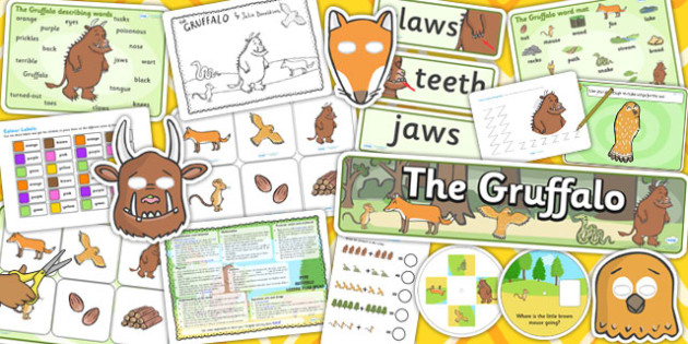 Nursery Gruffalo Resource Pack - resources, gruffalo, nursery