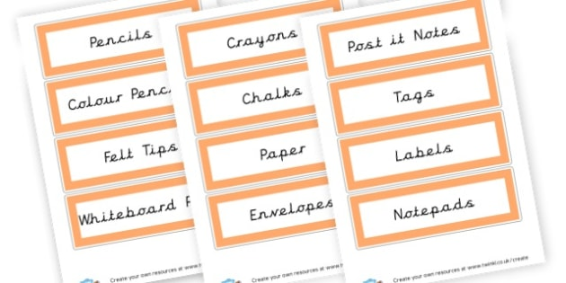 writing labels - Writing Area Primary Resources, signs, area, zones, banner, poster