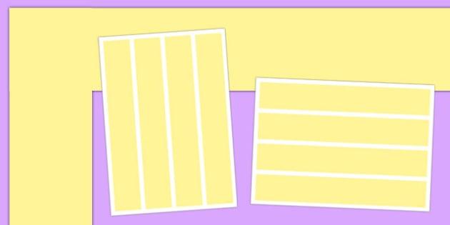 Neutral Pastel Yellow Display Border - neutral display