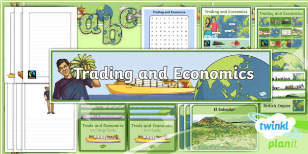 PlanIt Geography Year 6 Trade and Economics Additional Resources