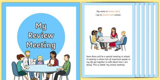 My Social Review Story - sen, eal, transition, meeting, personal, update, ks1, ks2, primary, senco, editable,