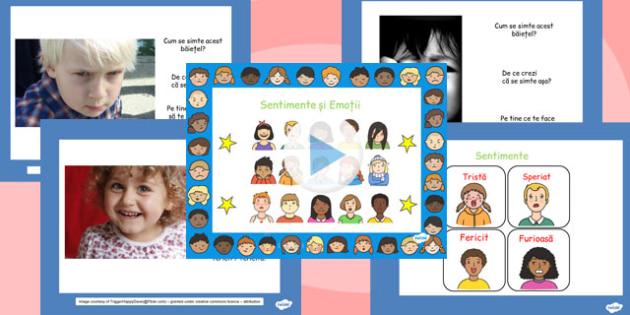 Emoțiile noastre - Prezentare PowerPoint - emoții, sentimente, prezentare Power Point, frontal, dezvoltare personală, materiale, materiale didactice, română, romana, material, material didactic