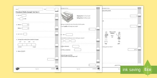 year 5 maths test pdf uk
