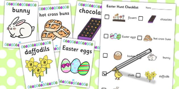 Easter Hunt Activity Pack - easter, hunt, activity, pack, group
