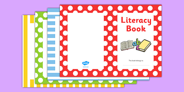 Literacy Book Cover - literacy, english, reading, book covers