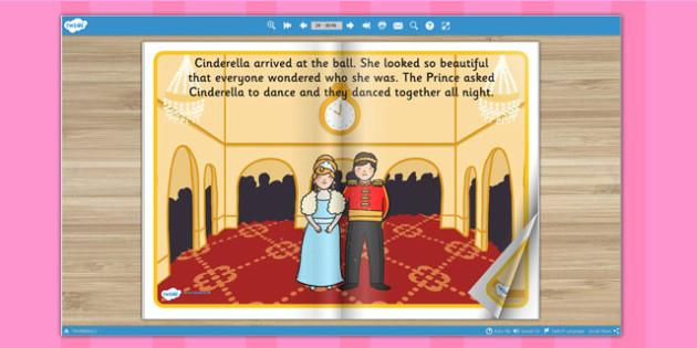 Cinderella eBook - books, interactive books, traditional tales