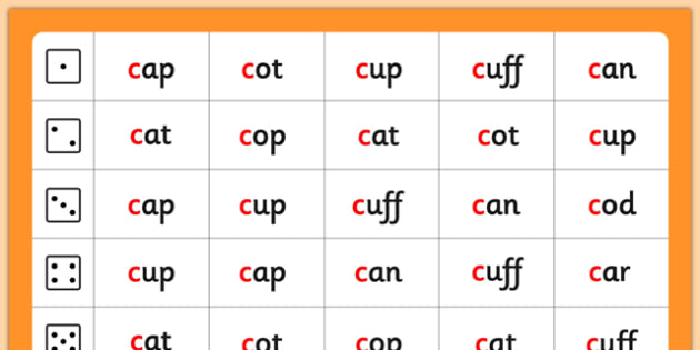 Phase 2 c Phoneme Roll and Read Mat - phase two, phonemes, phases