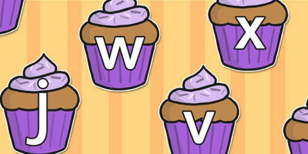 Phase 3 Phoneme Sounds on Cupcakes - phonemes, phase 3, cupcakes