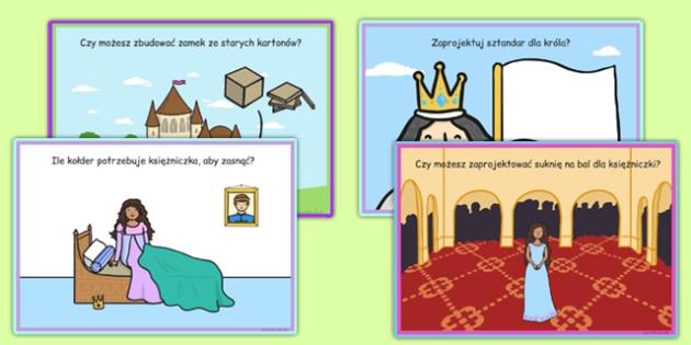 Karty z wyzwaniami Bajki i baśnie po polsku - lektury
