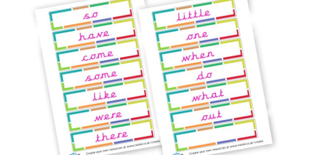 Phase 4 Key Words Cards - Phase 4 Visual Aids Primary Resources, Phase One, Letters, sounds