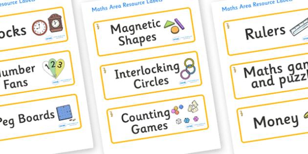 Seahorse Themed Editable Maths Area Resource Labels - Themed maths resource labels, maths area resources, Label template, Resource Label, Name Labels, Editable Labels, Drawer Labels, KS1 Labels, Foundation Labels, Foundation Stage Labels, Teaching La