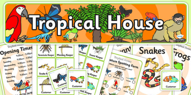Tropical House Role Play Pack - tropical house,  role play, role play pack, resource pack, role play badges, role play banner, role play display photos