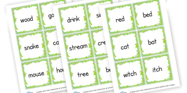 rhyme hunt - Word Rhyme Primary Resources, words, rhymes, keywords, vocabulary