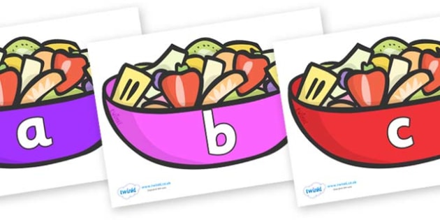 Phase 2 Phonemes on Fruit Salad - Phonemes, phoneme, Phase 2, Phase two, Foundation, Literacy, Letters and Sounds, DfES, display