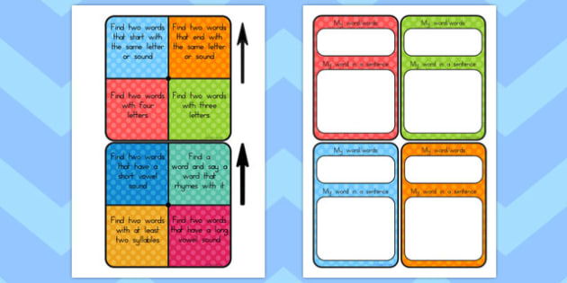 Guided Reading Word Work Spinners - australia, guided reading