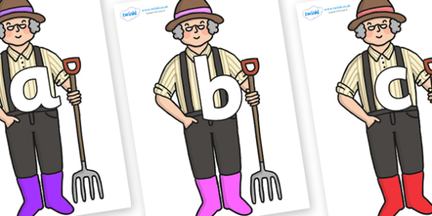 Phoneme Set on Enormous Turnip Farmer - Phoneme set, phonemes, phoneme, Letters and Sounds, DfES, display, Phase 1, Phase 2, Phase 3, Phase 5, Foundation, Literacy