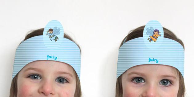 Fairy Garden Headbands - fairy, garden, headbands, role-play